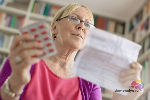 Успешное лечение деменции препаратами