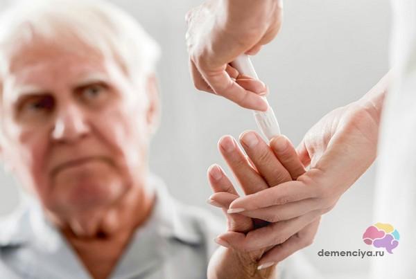 Деменция и сахарный диабет