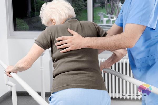 Нарушение походки при болезни Паркинсона