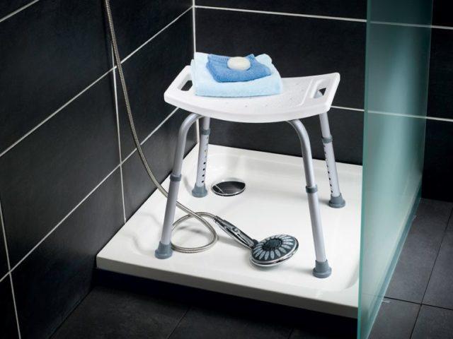стульчик в ванную для пожилых людей купить